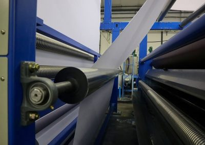 Textile machine for printing