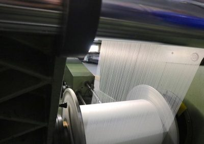 Textile machine for printing with sub dye paper printing route