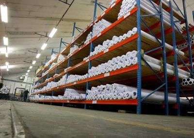 Textile rolls for printing